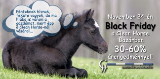 Black Friday a Clean Horse-nál